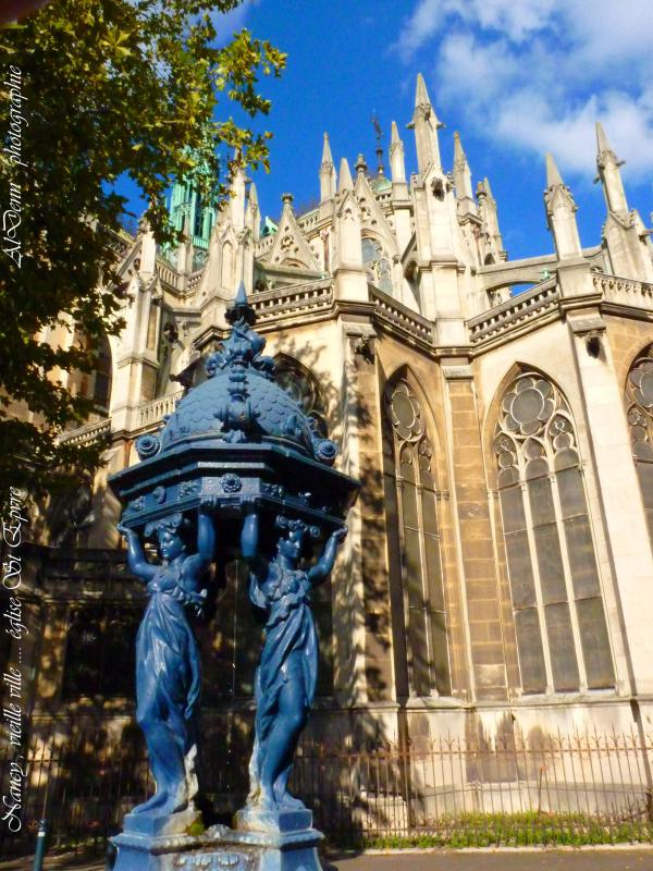 Série photographie : Nancy , Basilique St Epvre.