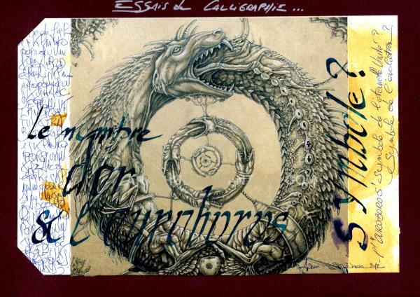 Calligraphie N°6                                                         janvier 2012