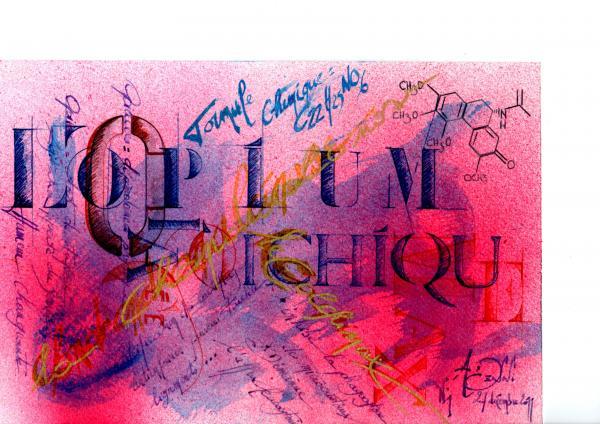 Calligraphie :essais 2011