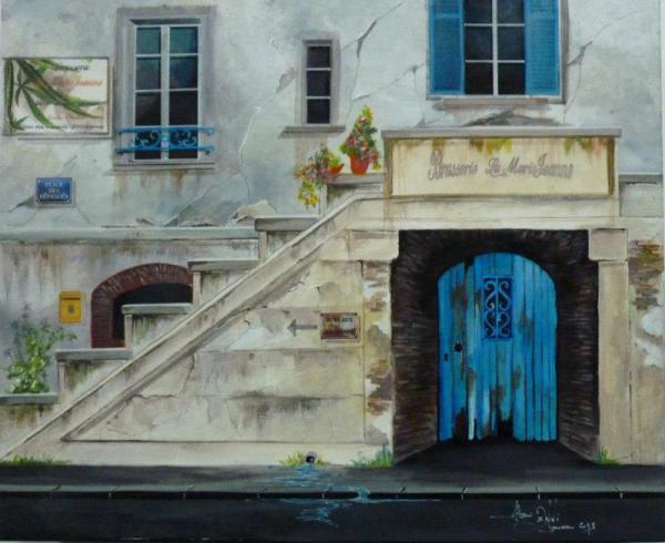 Peinture : Série  figurative ... '' Renaissance Urbaine ''