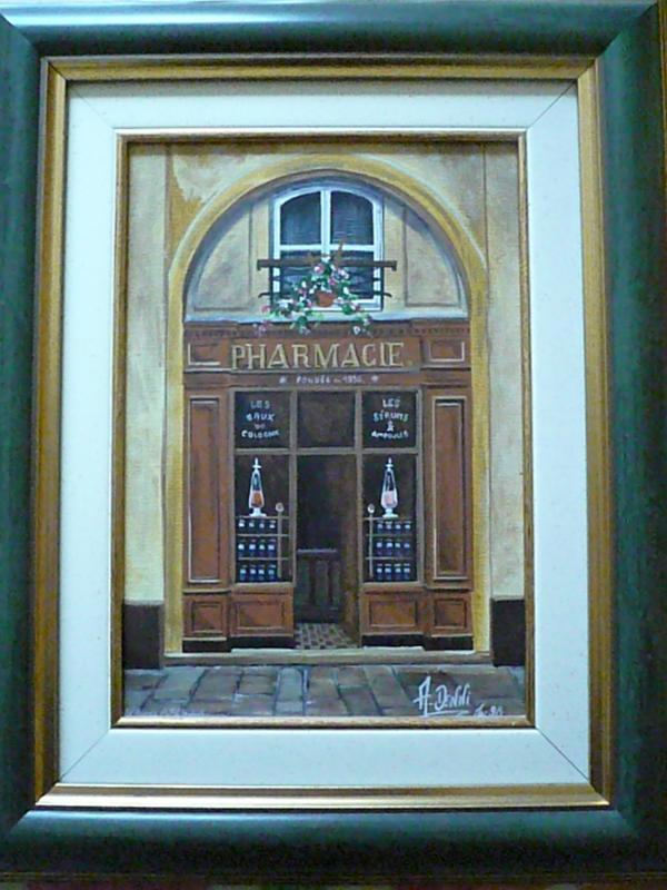 Façades de boutiques  Parisiennes ...