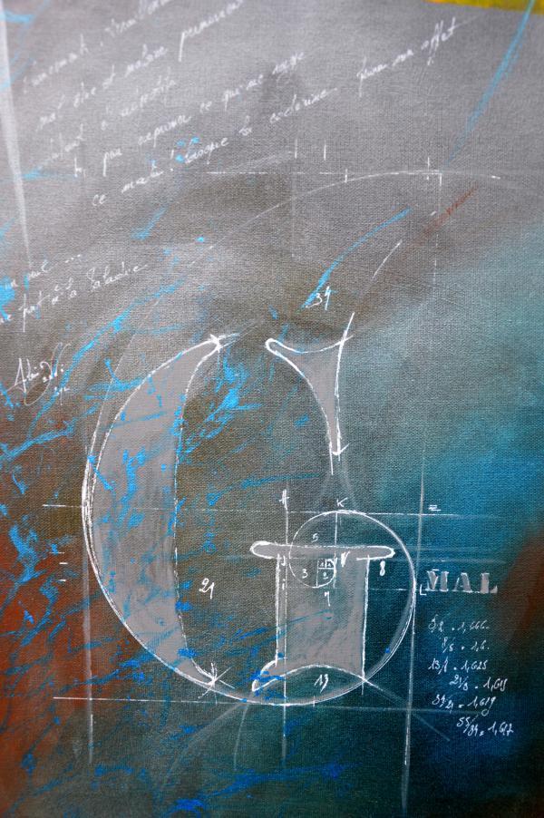 Peinture , série sur la souffrance ... '' G mal ''