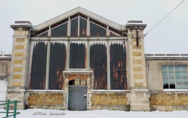 Série photographie : Nancy , grande halle aux bestiaux