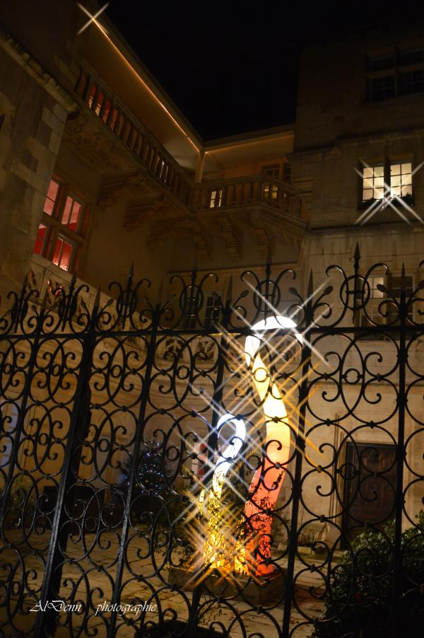 Série photographie : Nancy , hotel d'Haussonville.