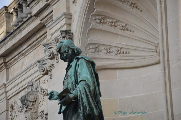 Série photographie: Nancy , statue J.Callot.